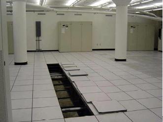 Computer Room Under Floor Baffling For Thermal Tun